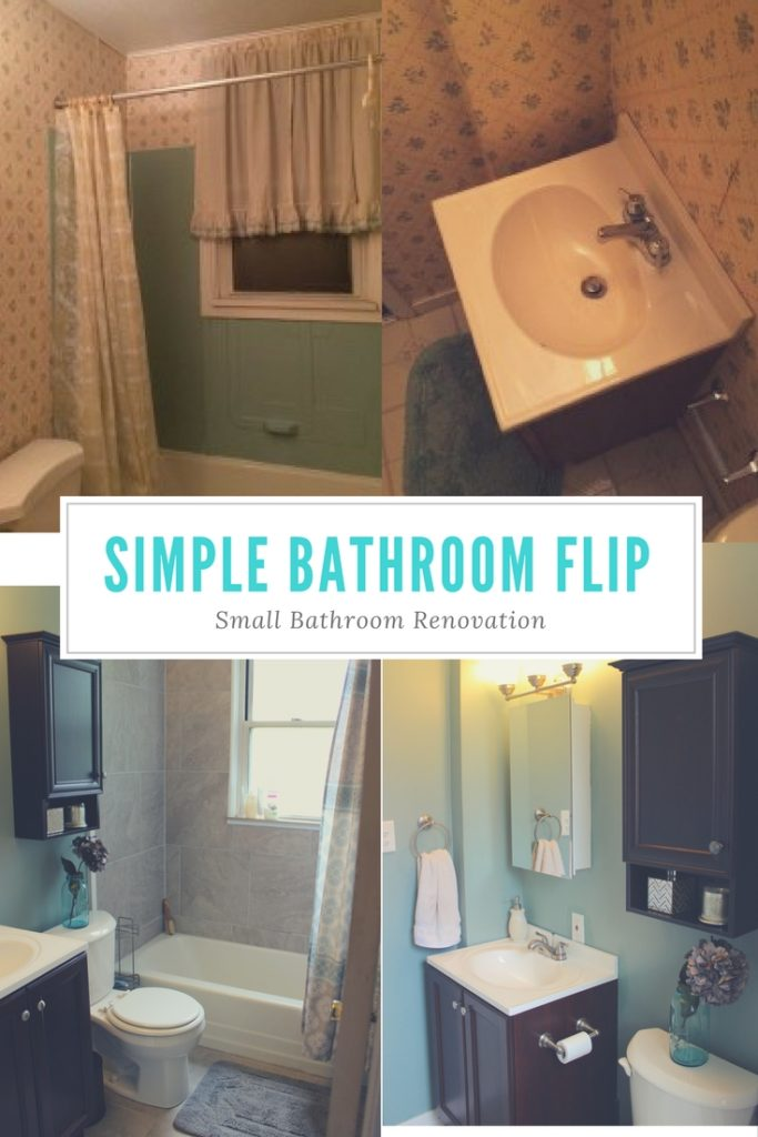 Small Bathroom Renovation AFTER Reveal