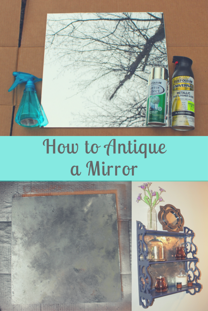 How to antique a mirror