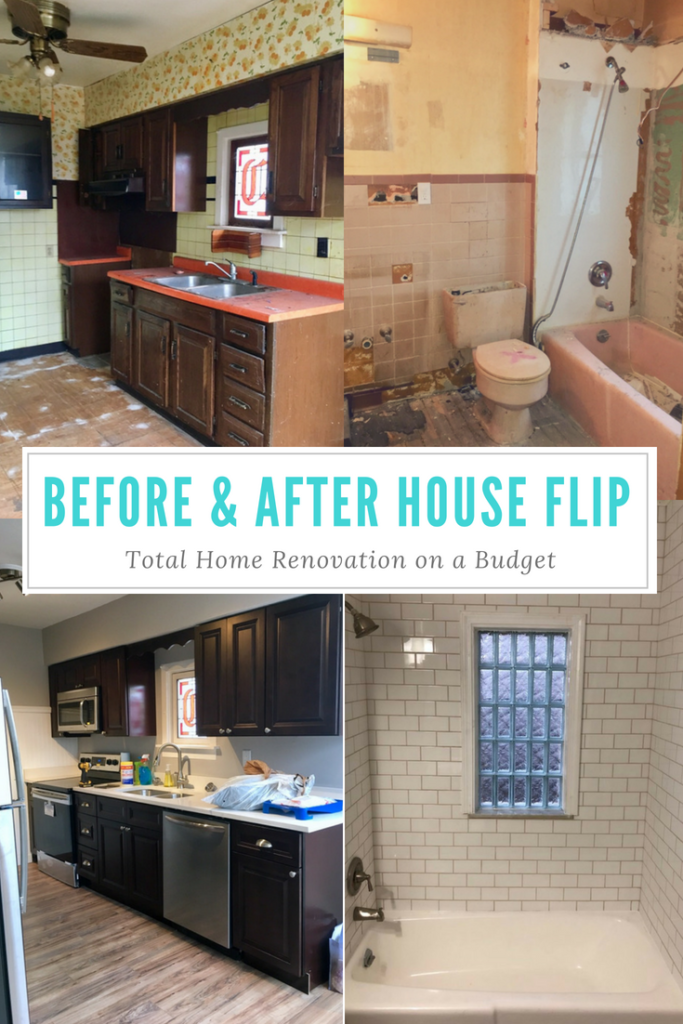 House Flip, Before and After