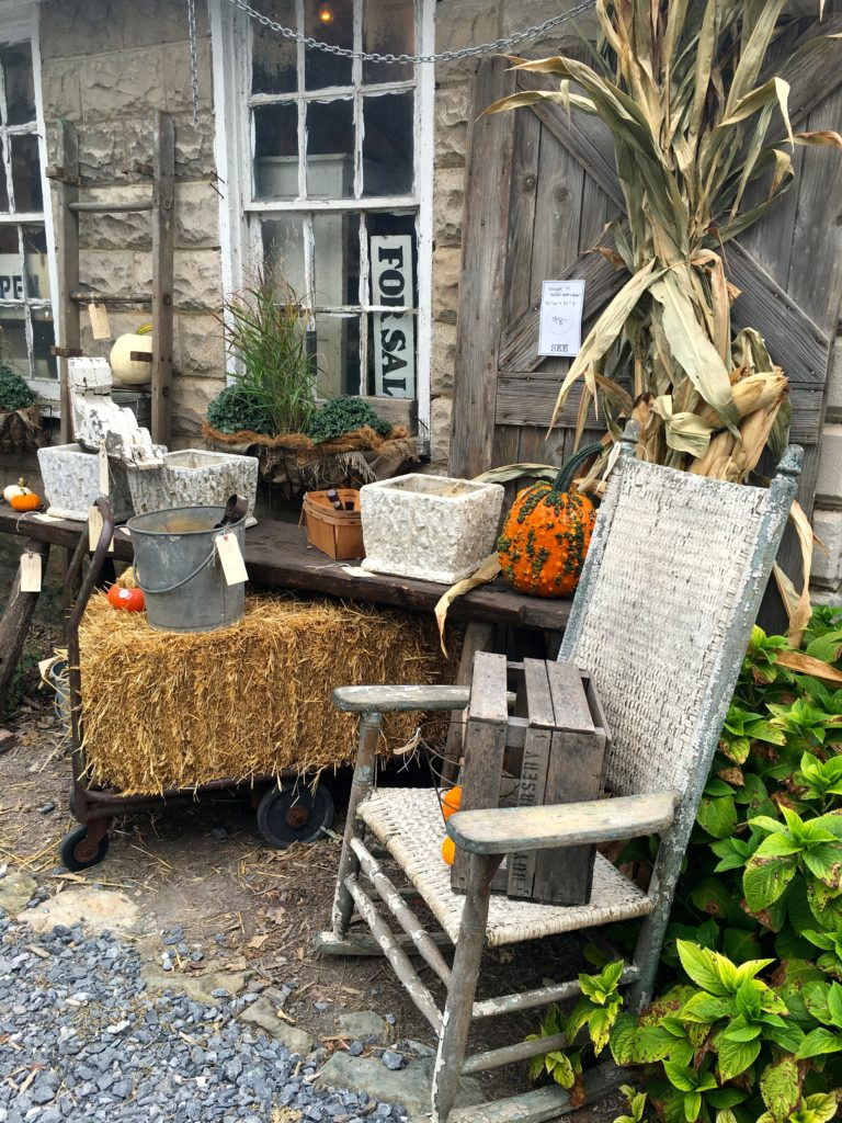 Chartreuse & co yard sale