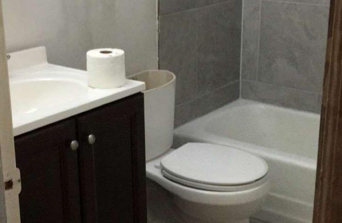 bathroom remodel tiling