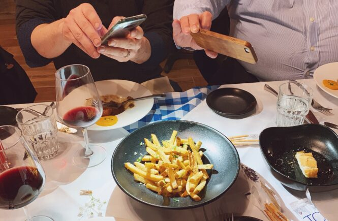 Pomme frites in pittsburgh at jean Louis