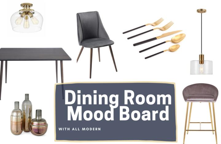 AllModern dining room mood board