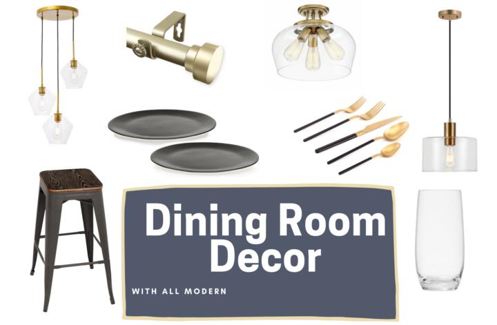dining room decor from AllModern